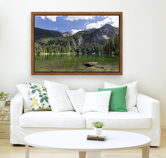 Lake of Tovel with Floating Frame