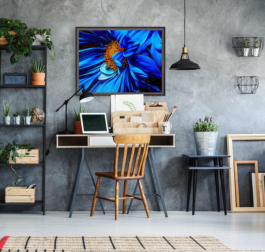 Beautiful Blue Flower_OSG  Art