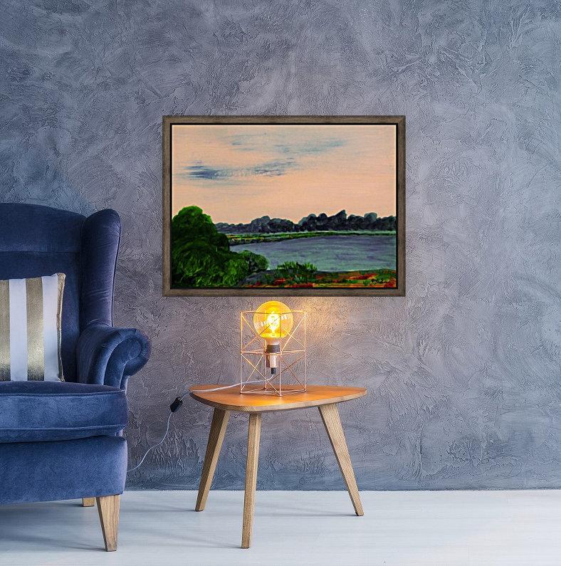 Evening Landscape  Art