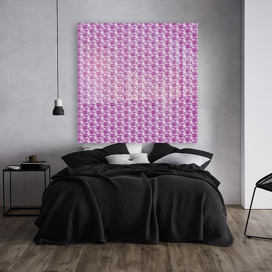 Rose Pattern Artwork  Art