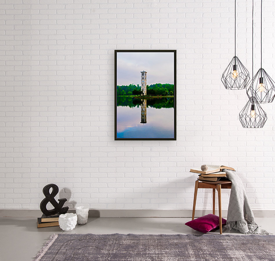 Furman University with Floating Frame