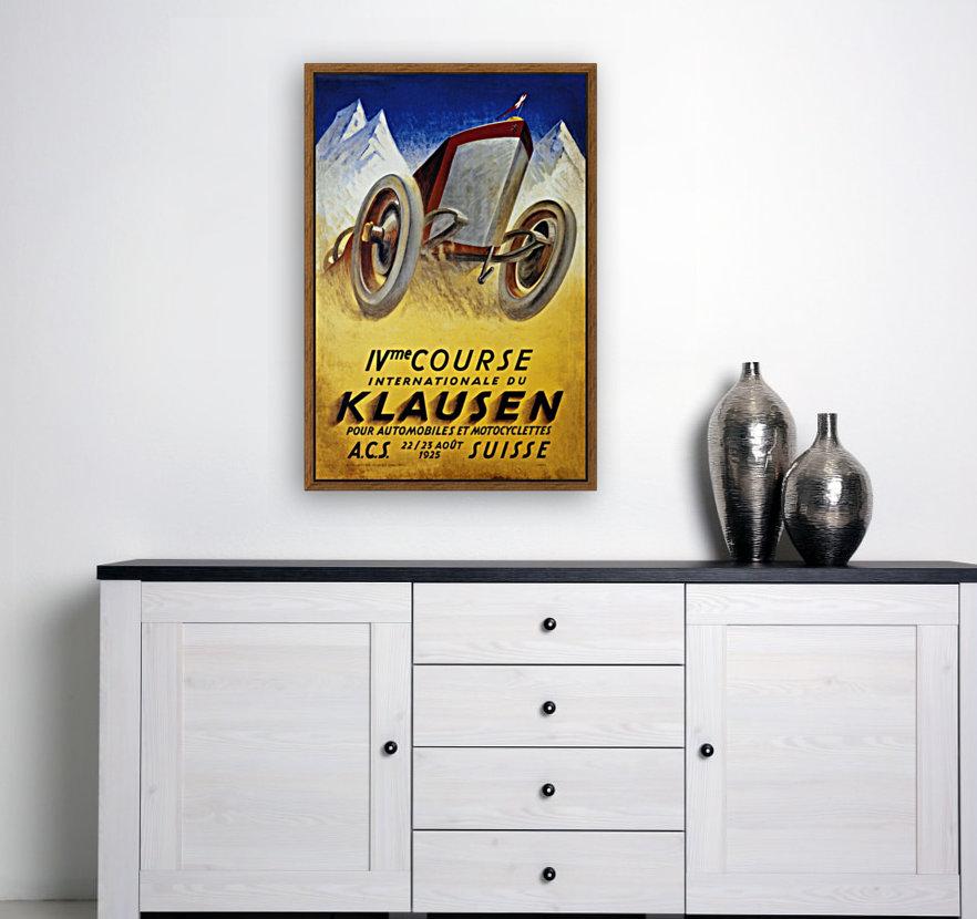 Klausen Suisse Ivme Course Internationale Acs 1925  Art
