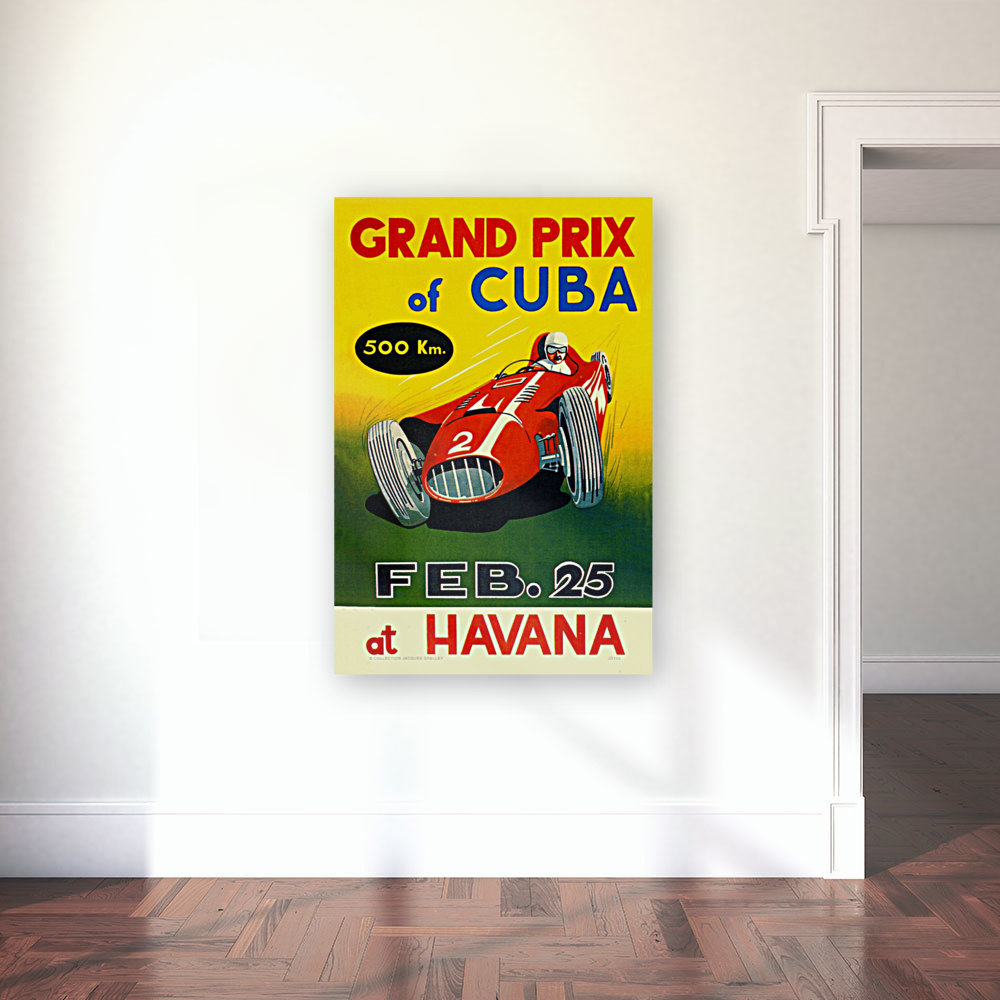 Cuba Grand Prix Havana 1958 with Floating Frame