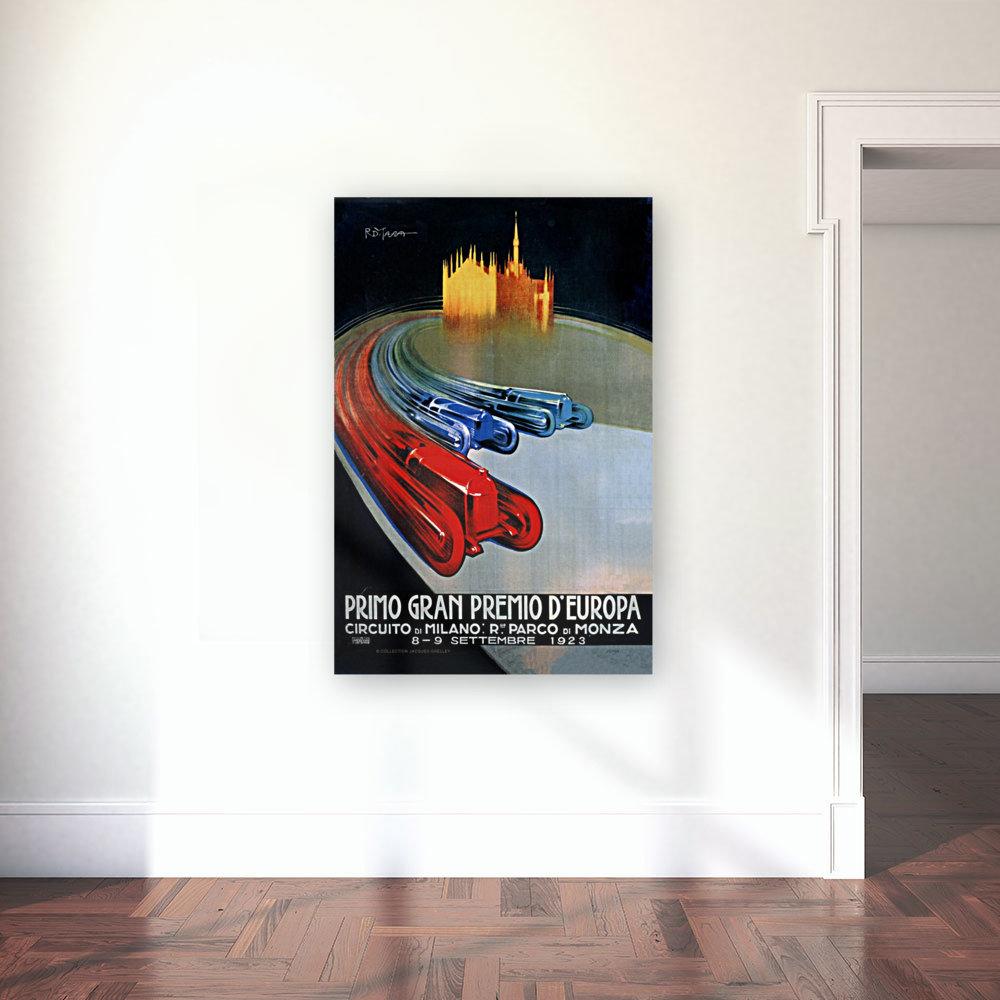 Europe Grand Prix Primo Gran Premio D Europa Circuito Milano Monza 1923  Art