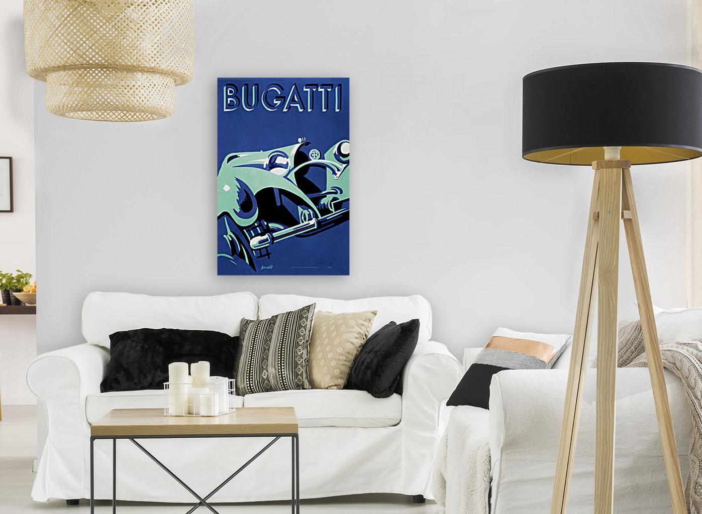 Bugatti Type 50 Super Roadster 1932  Art