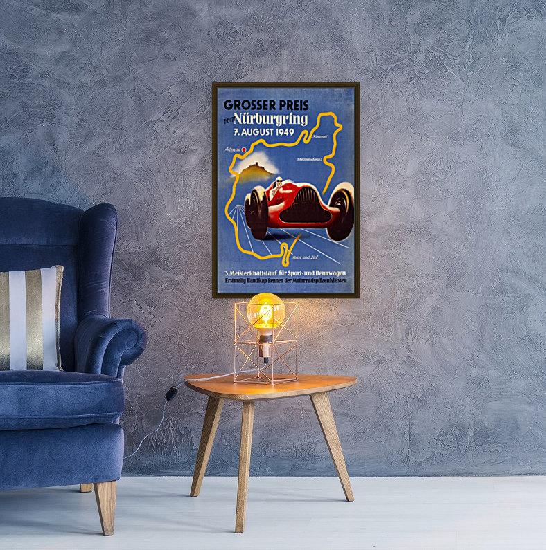 German Grand Prix Grosser Preis Vom Nurburgring 1949  Art