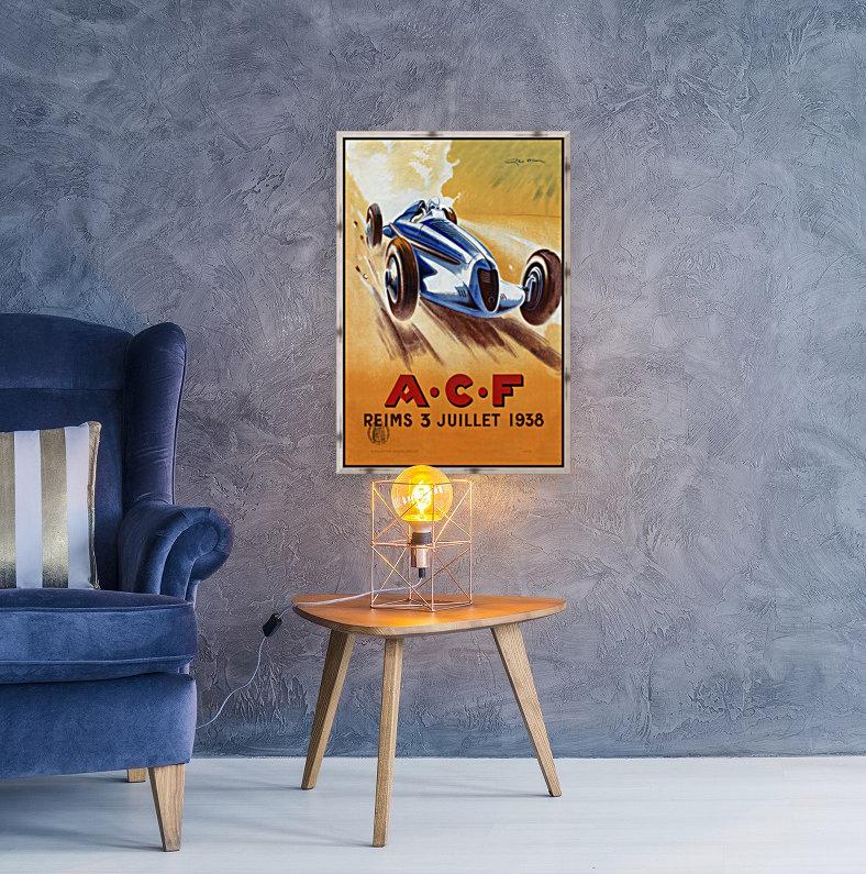 ACF Reims 3 Juillet 1938  Art