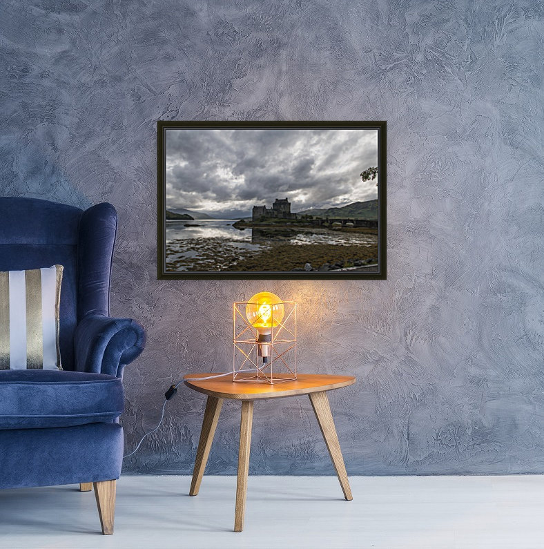 Eilean Donan Castle with Floating Frame
