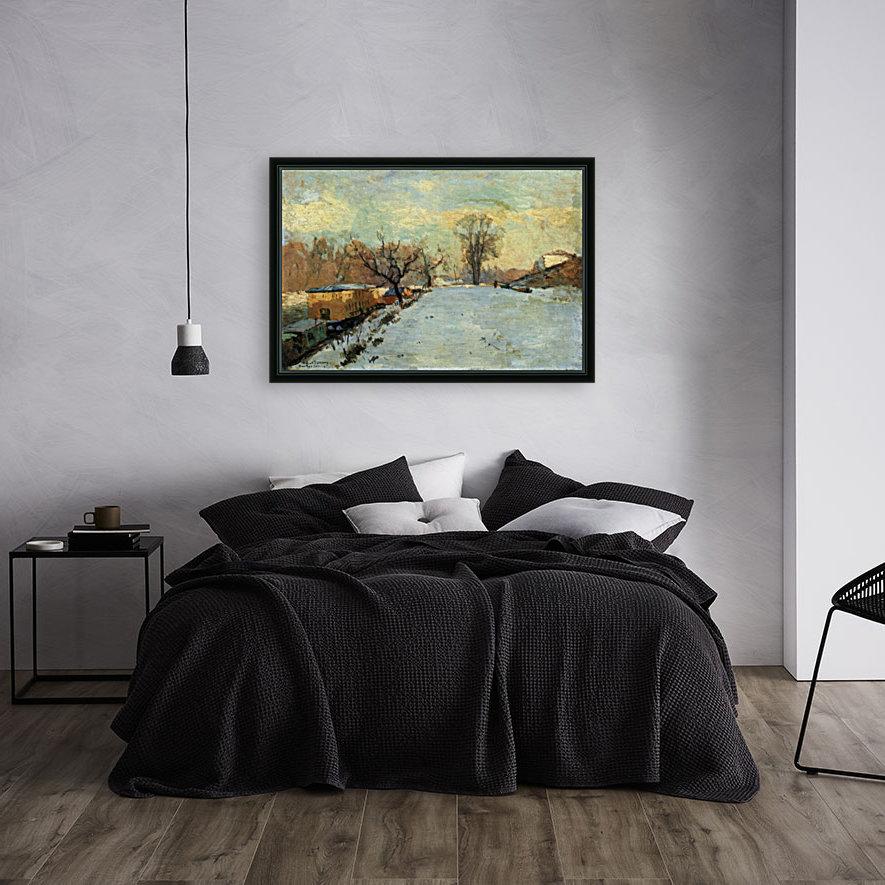 The Seine in Winter  Art