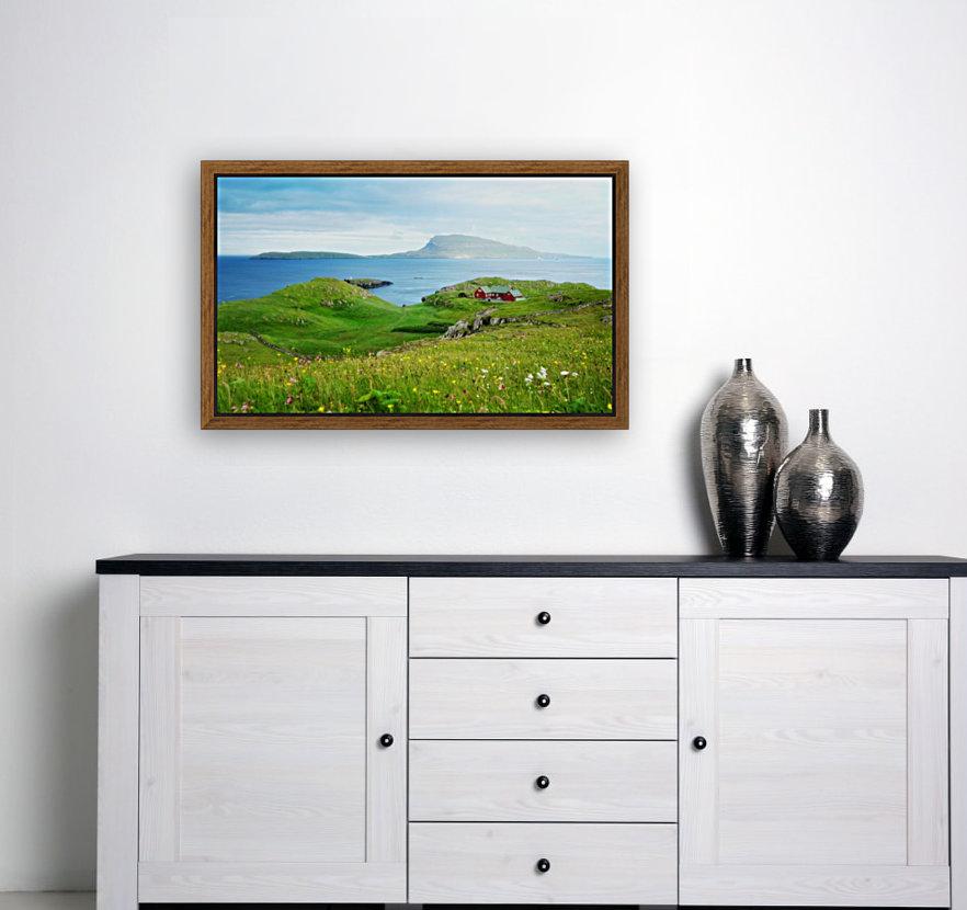 Faroe green field  Art