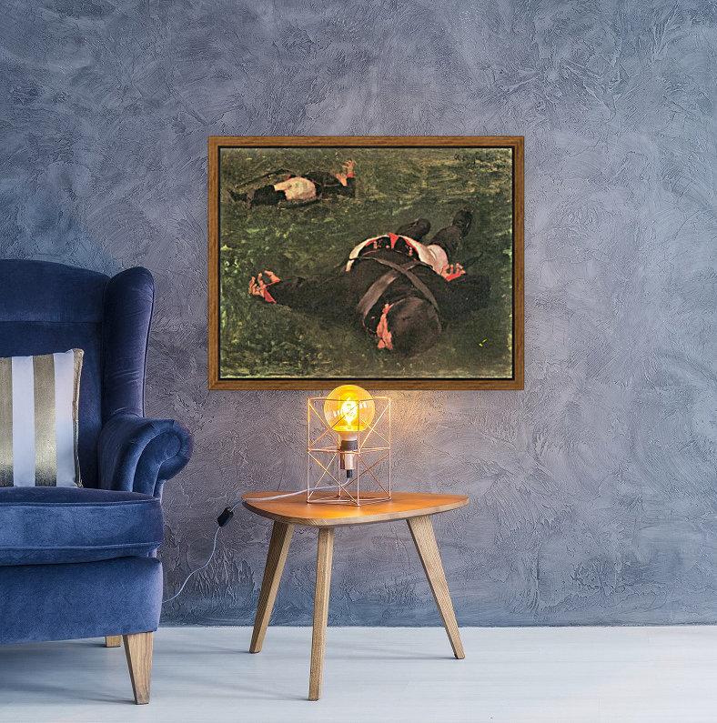 Dead Frenchmen by Albin Egger-Lienz  Art