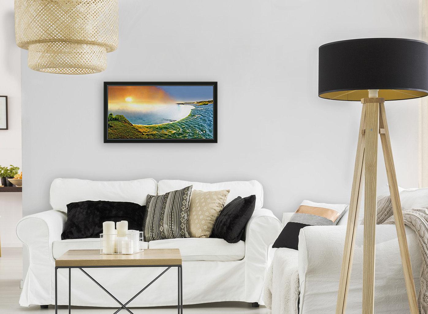 Sunrise at Niagara Falls  Art