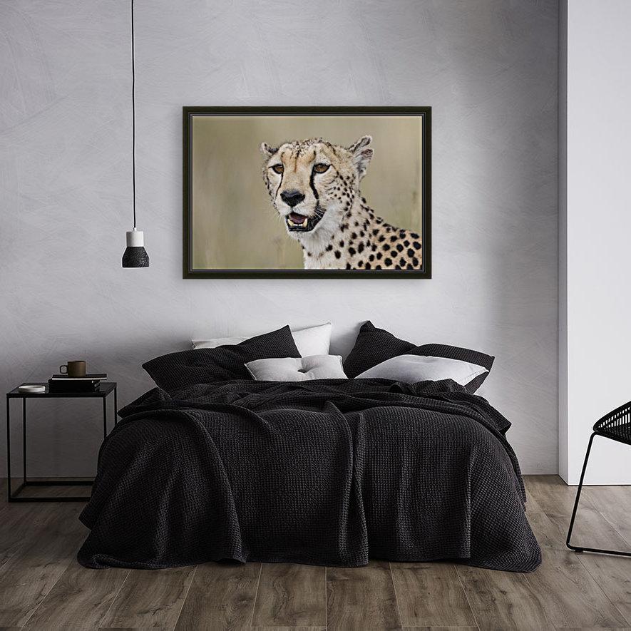 Cheetah Portrait by www.jadupontphoto.com  Art