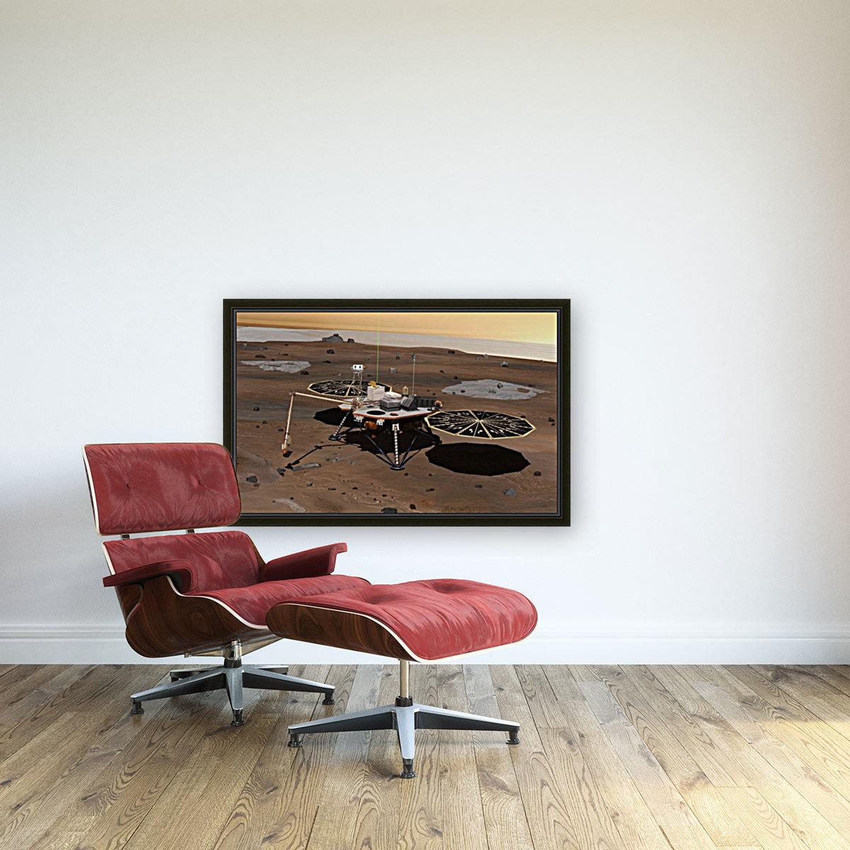 Phoenix Mars Lander  Art