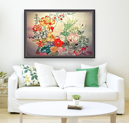 Bouquet of 10000 Colors  Art