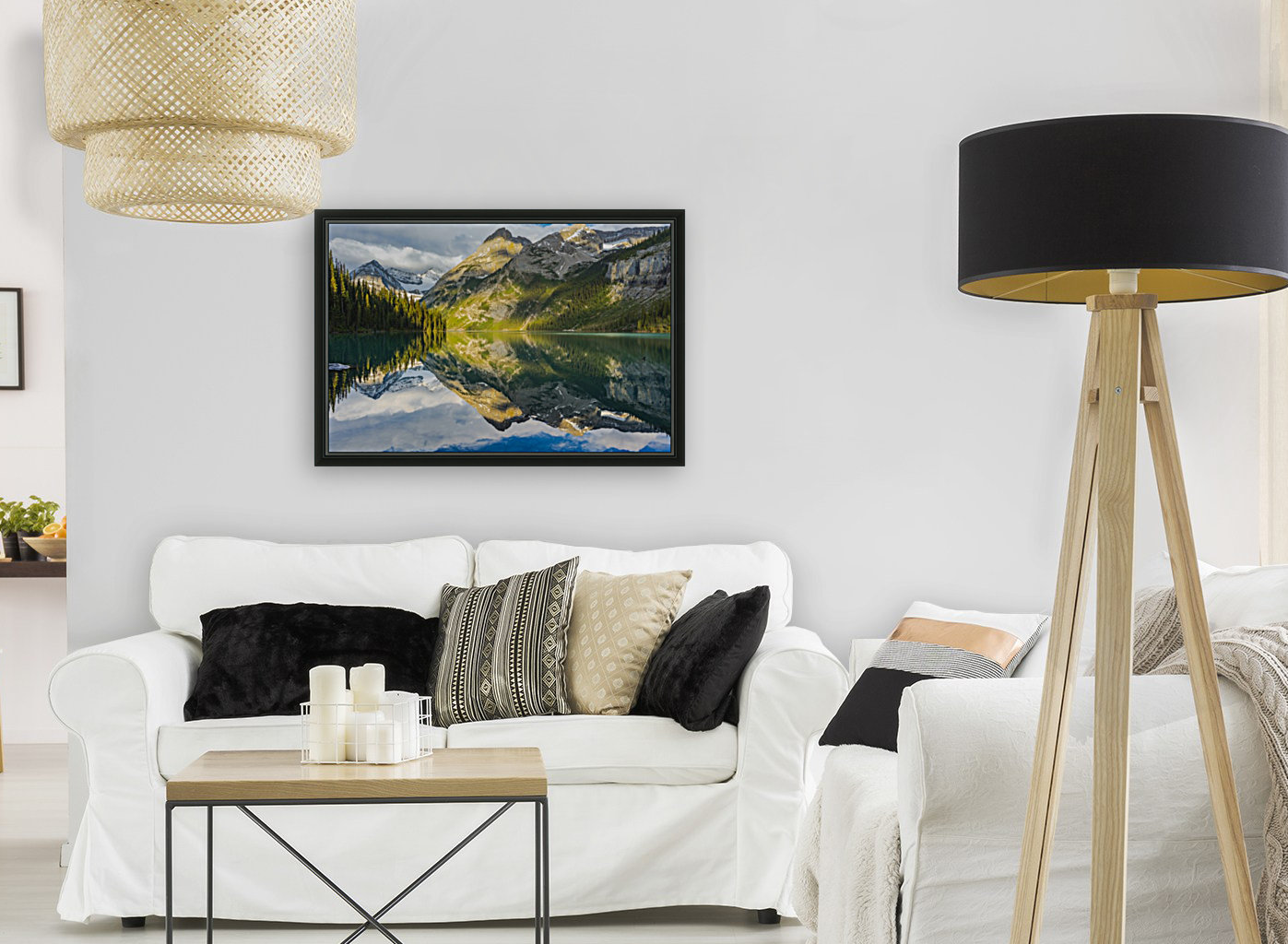 Upper elk lake   Art