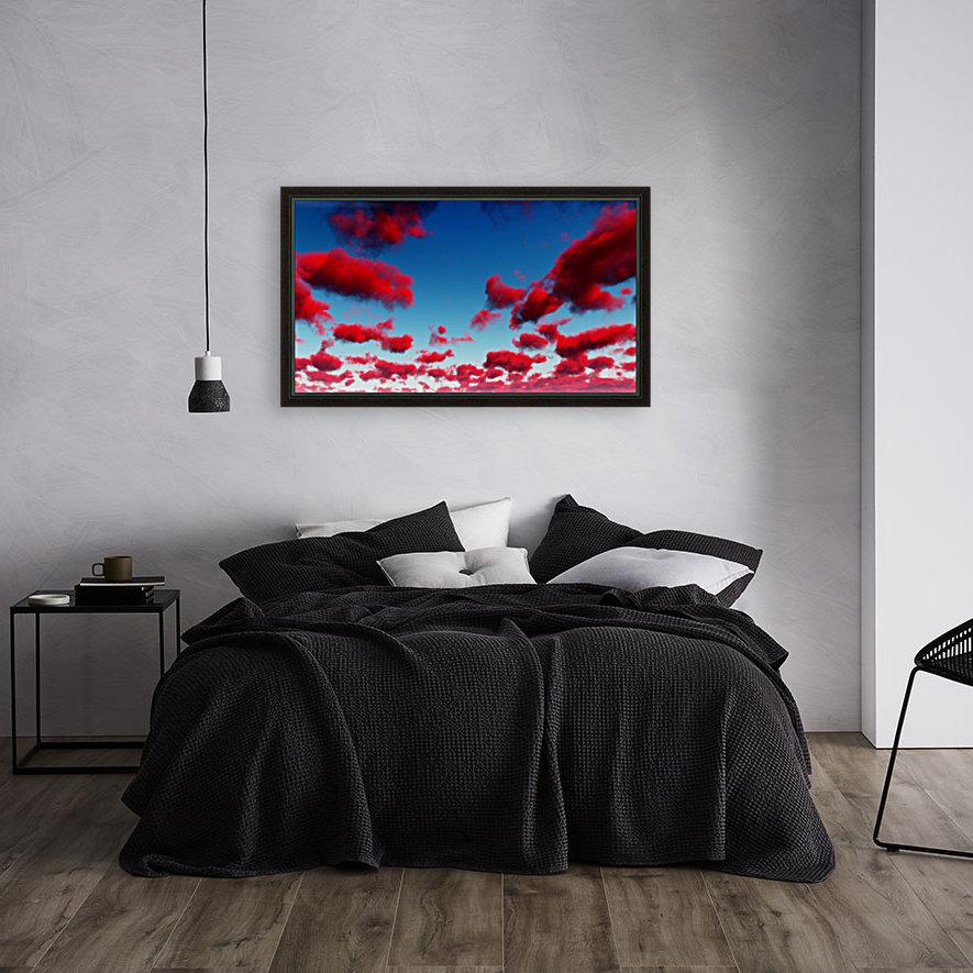 Deep Red Clouds  Art