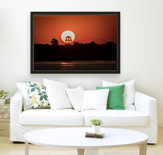 Sunset of Zimbabwe  Art
