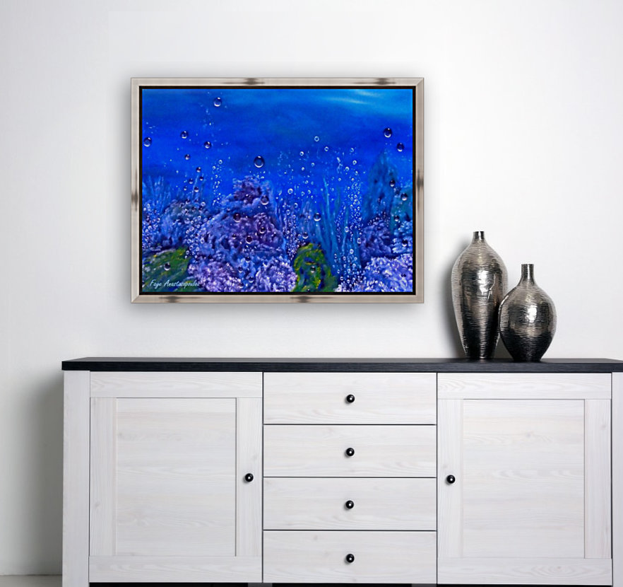 Coral Reef with Floating Frame