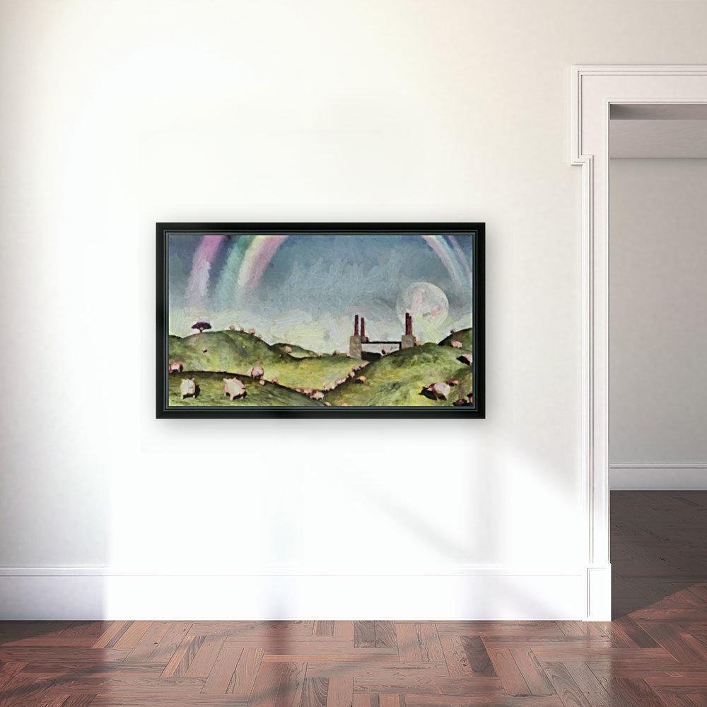 Under the rainbow  Art