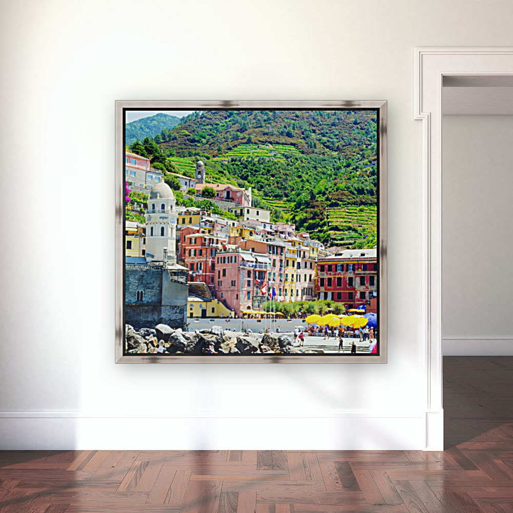 Colorful village of Cinque Terre  Art