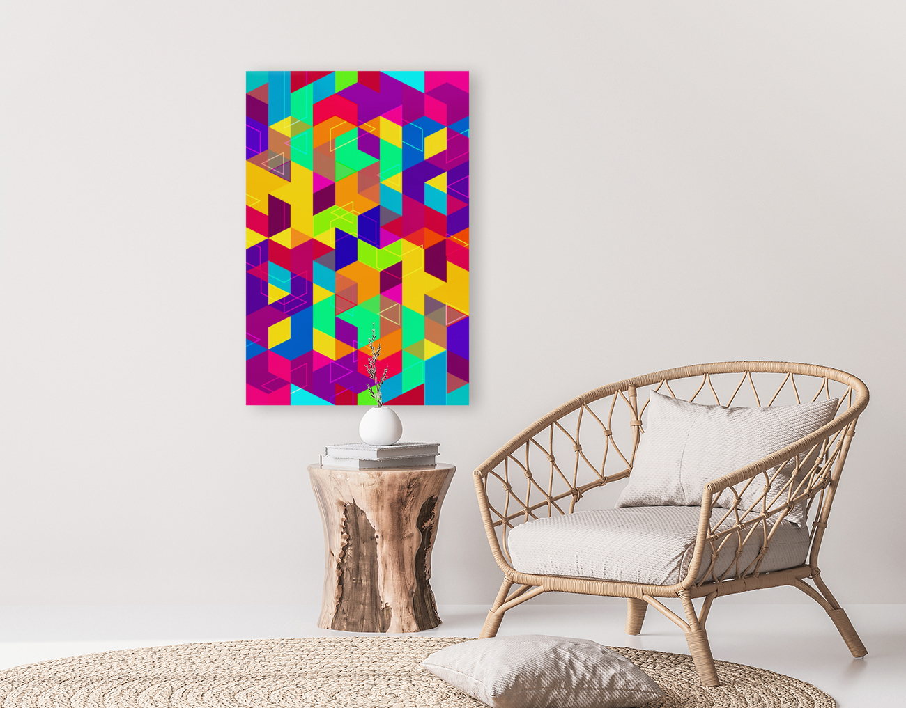 Pattern LXXX with Floating Frame
