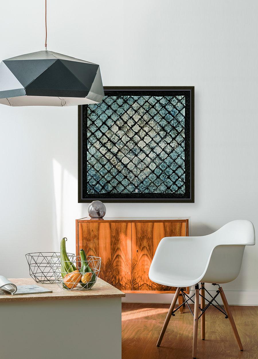 Les bleus vitraux -  Contemporary Art  Art