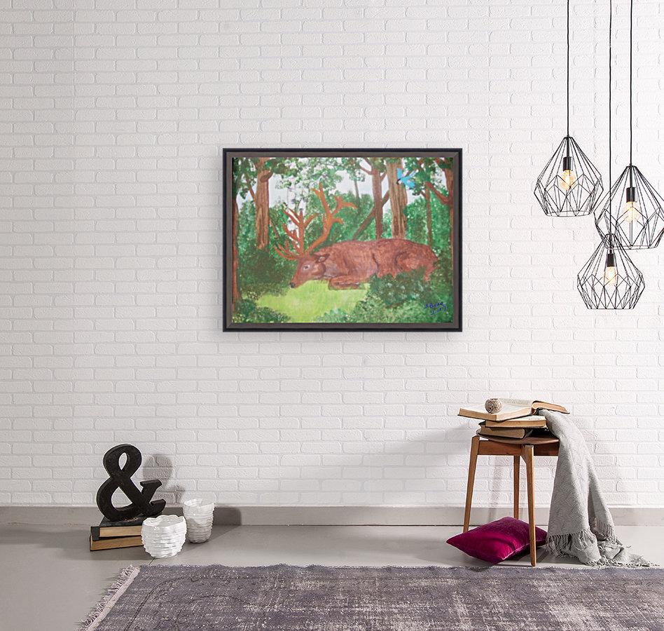 Maine Elk  Art