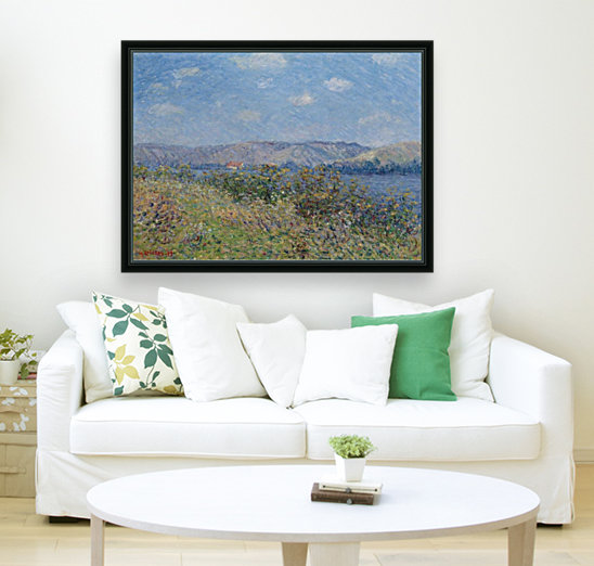 The Banks of the Seine, Tournedos-sur-Seine with Floating Frame