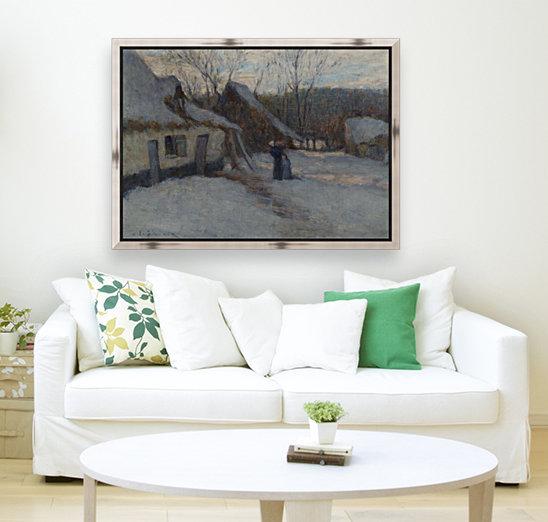 Snowy Landscape, Etaples  Art