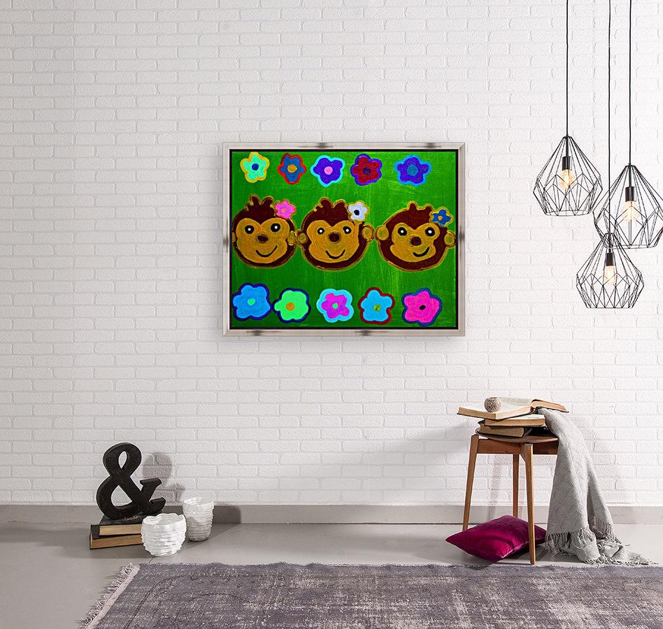 Chain of Monkey.Ali H  Art