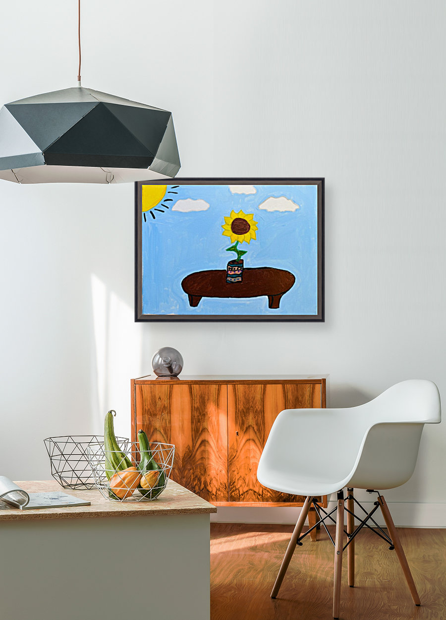 Under The Sun. DaVere H. with Floating Frame