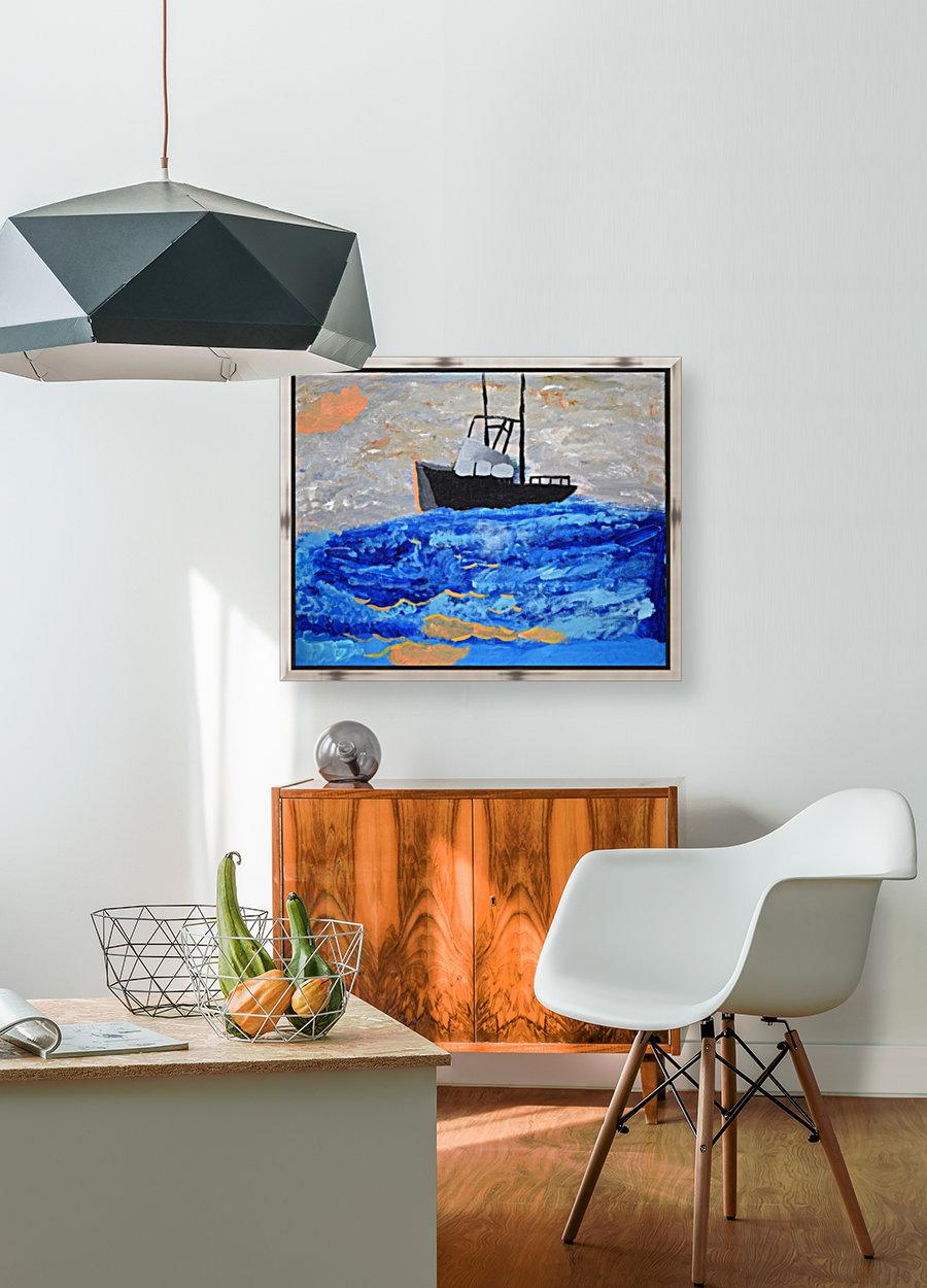 Tug Boat. Davey K  Art