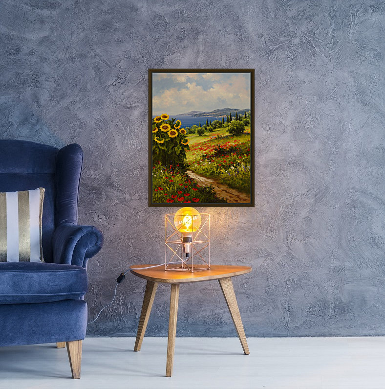 The Sunflower Grove  Art