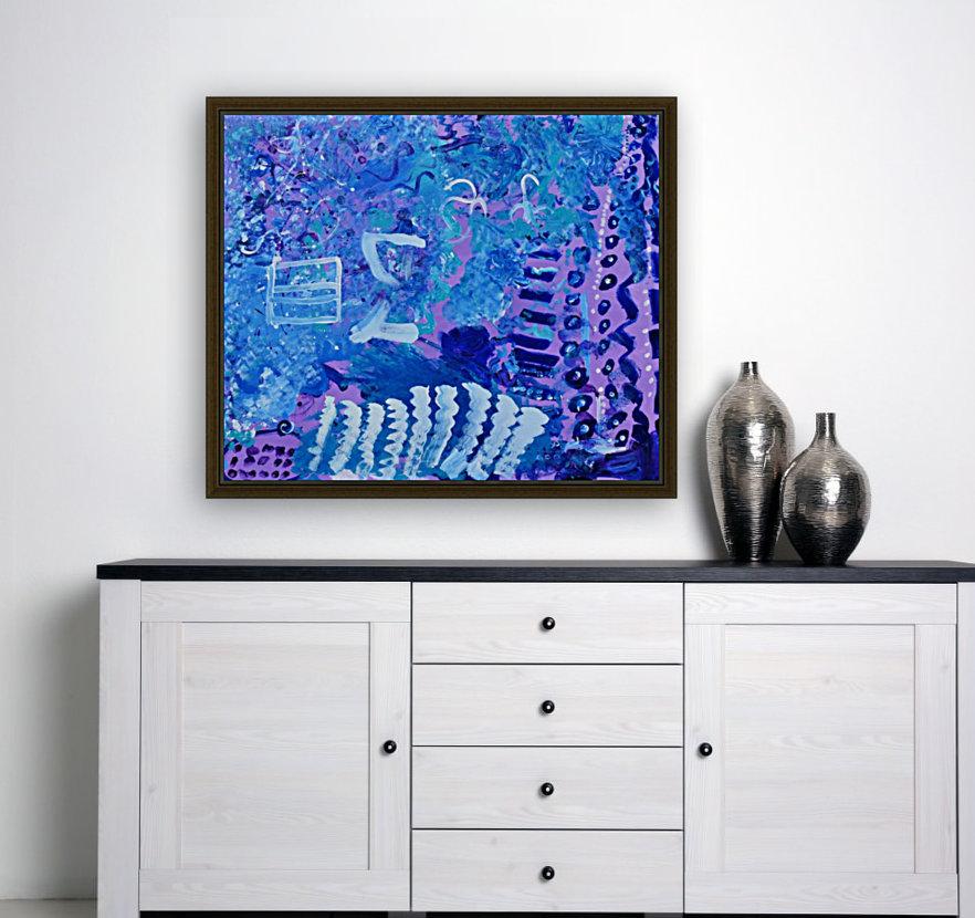 Blue Colab. Arts Education Artist  Art