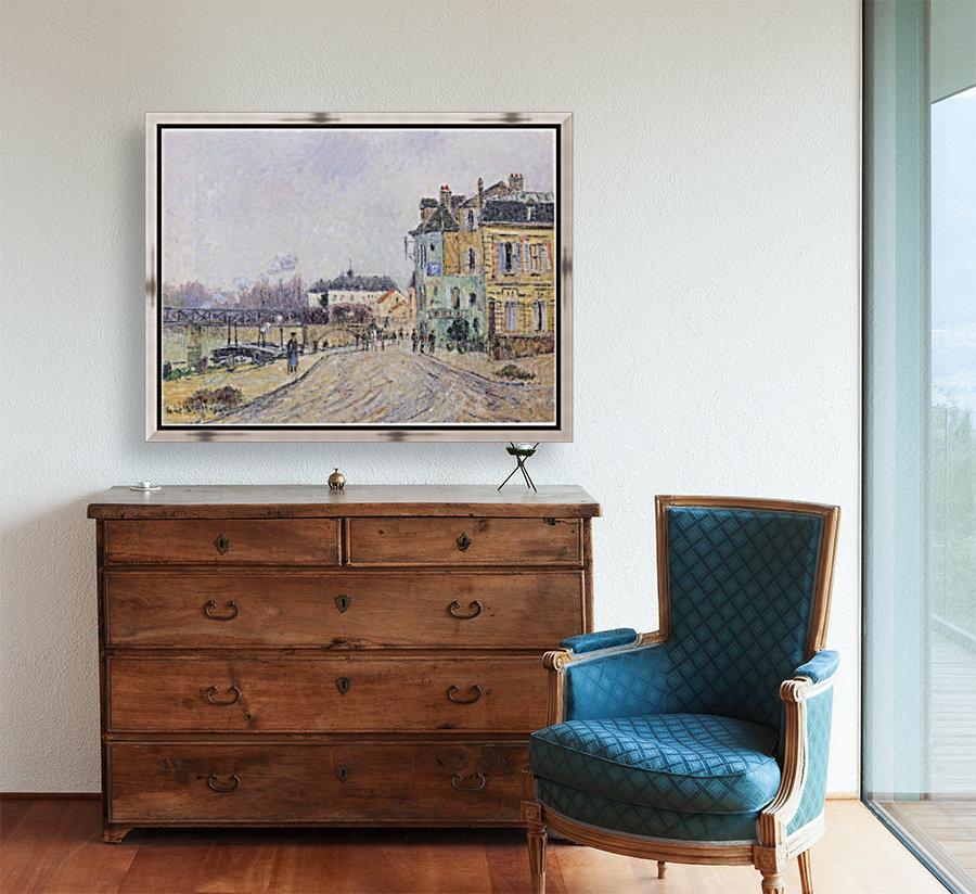 Street of Pontoise  Art