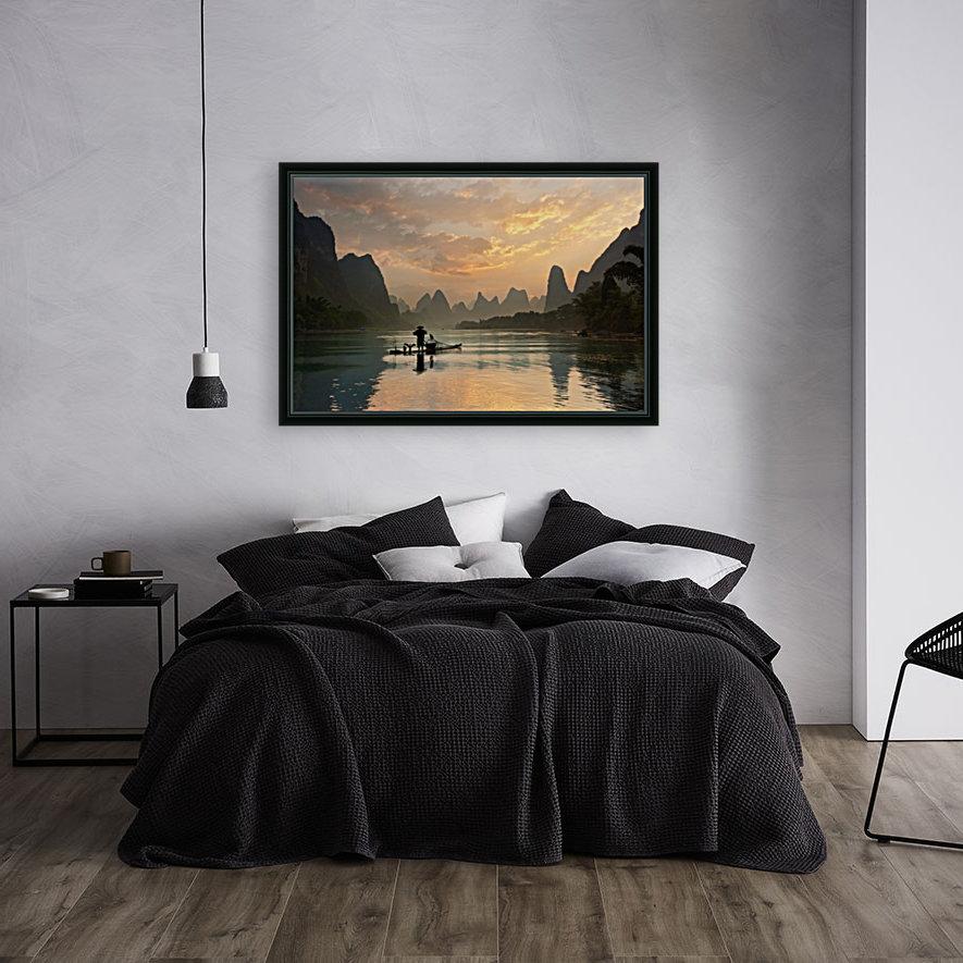 Golden Li River  Art