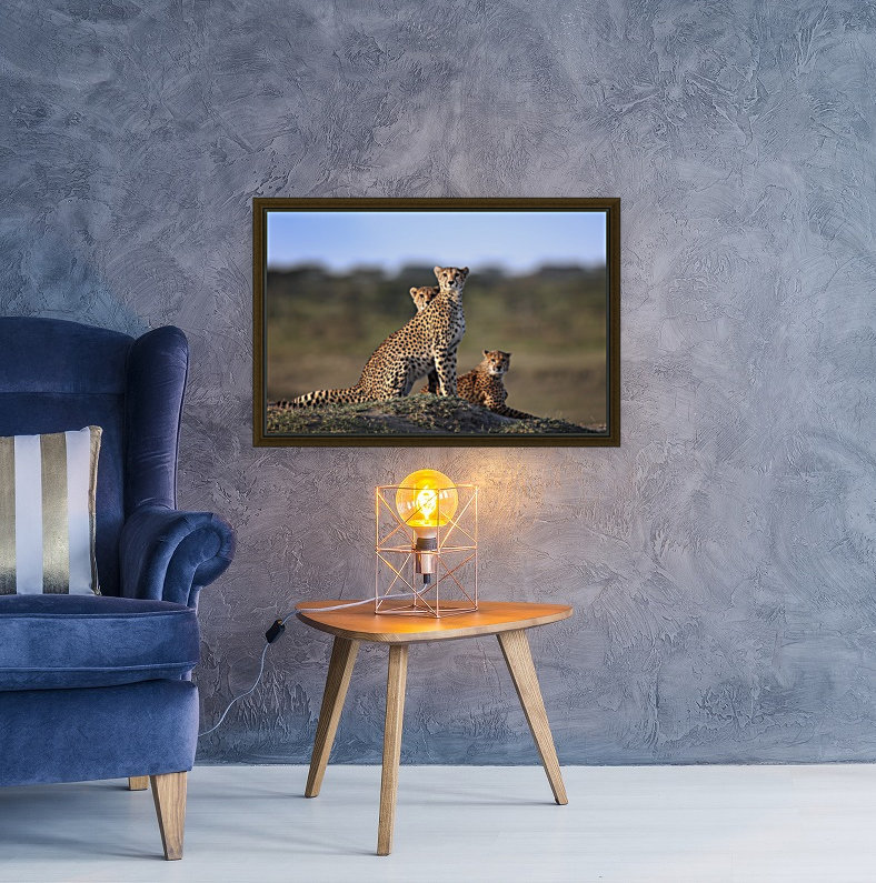 Cheetahs Family  Art