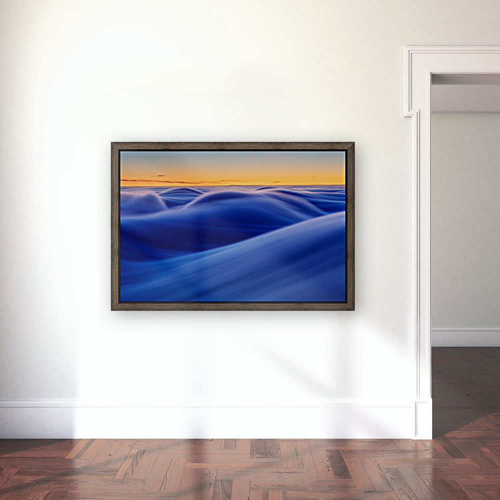 Waves with Floating Frame