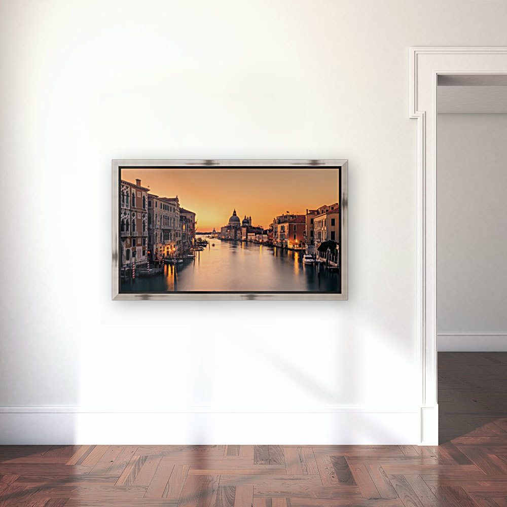 Dawn on Venice with Floating Frame