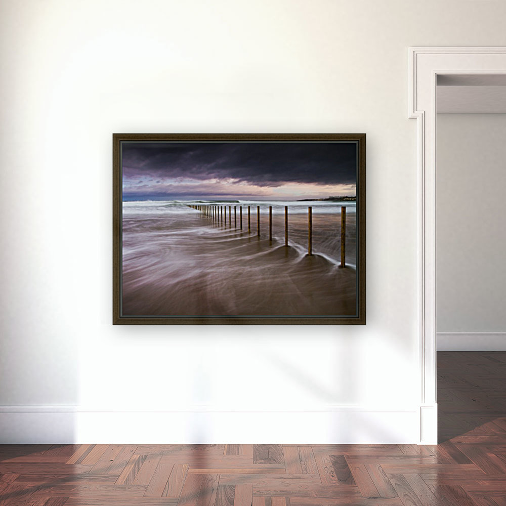 Portstewart Strand with Floating Frame