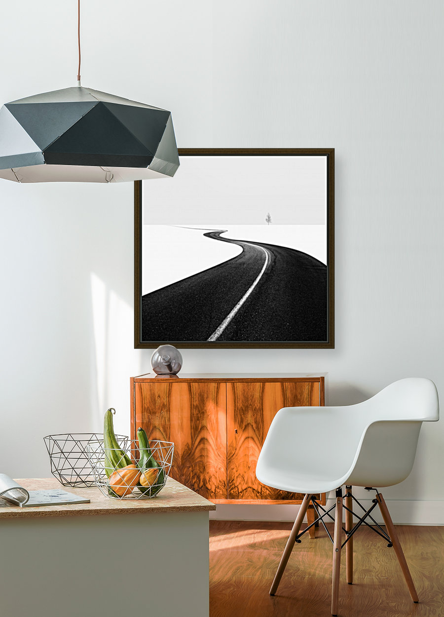 Road I with Floating Frame