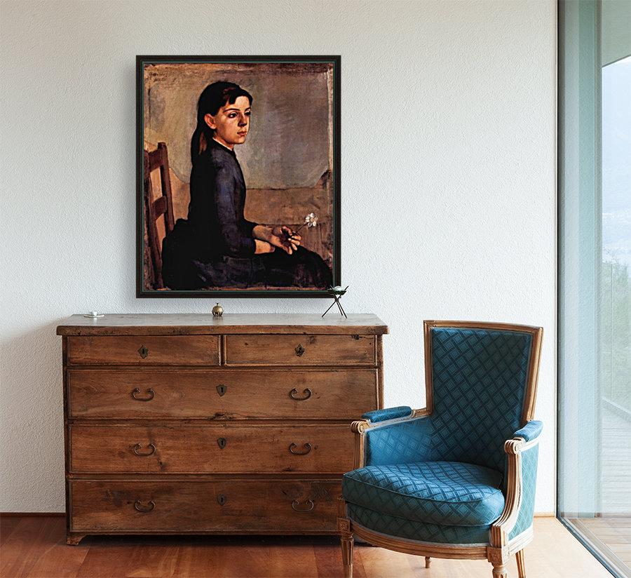 Louise-Delphine Duchosal by Ferdinand Hodler  Art