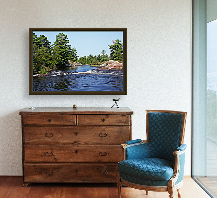 Lovers Rapids Lower French River  Art