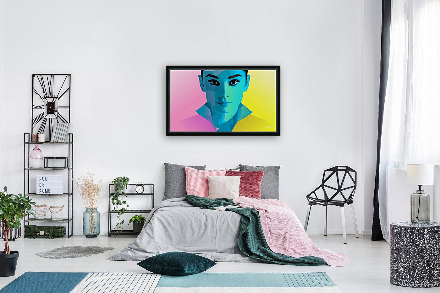 Pop Art Audrey Portrait  Art