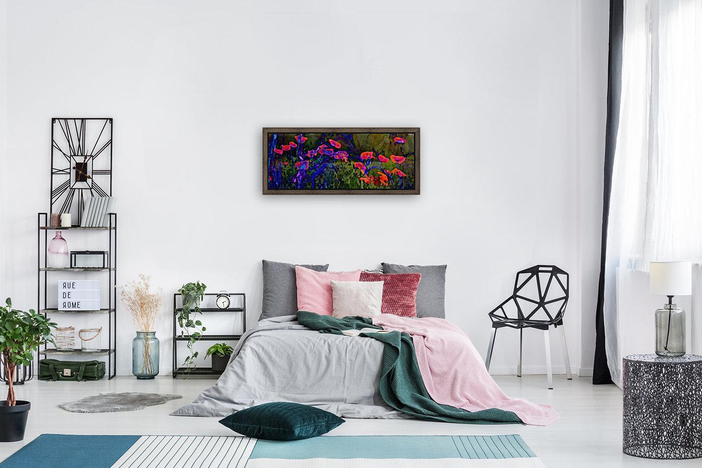 Red Poppy field  Art
