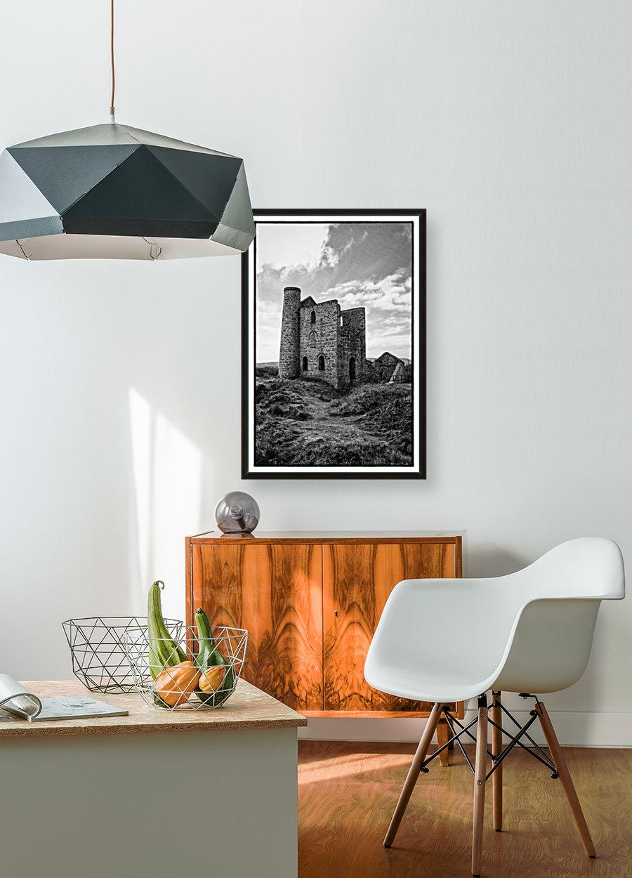 Tin Mine Cornwall  Art
