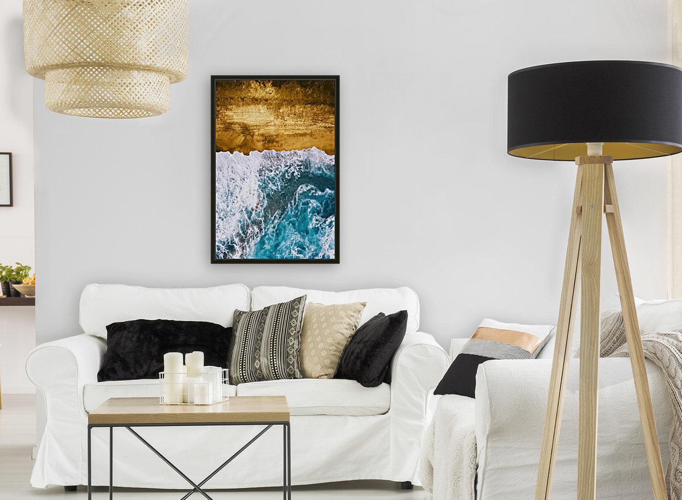 Tropical XVI - Golden Beach  Art