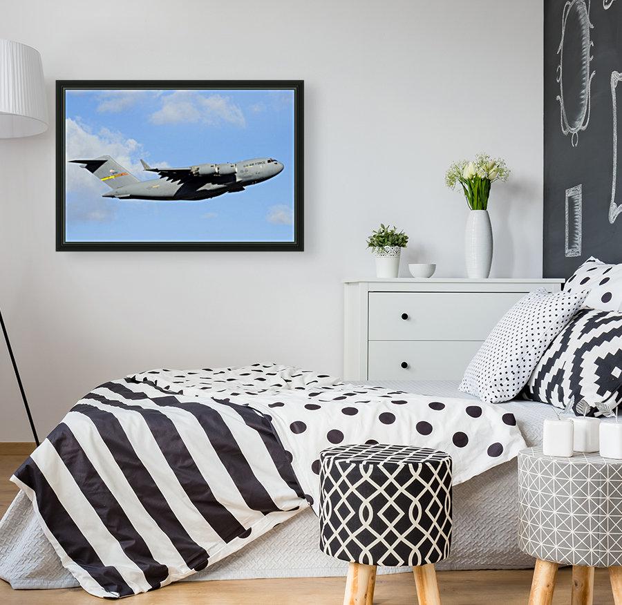 A C-17 Globemaster III  Art