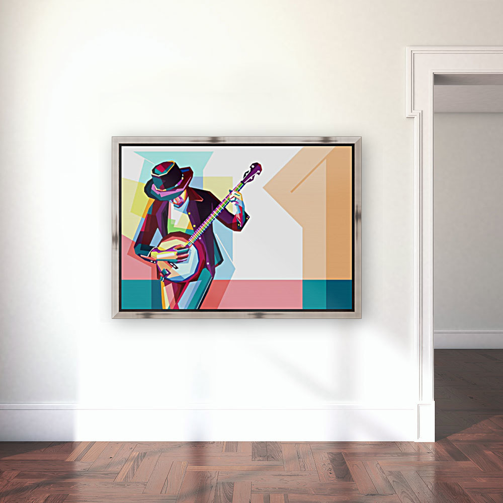 GUITAR MAN  Art